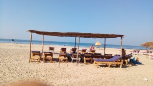 Cabo Wabo Beach lounge