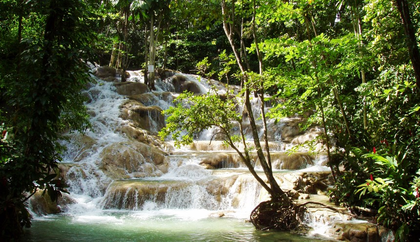 Dunn's River Falls | Jamaica Wheelchair Taxi - transport for wheelchair passengers
