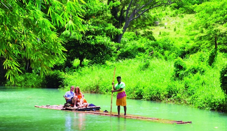 Bamboo Rafting | Jamaica Wheelchair Taxi - transport for wheelchair passengers