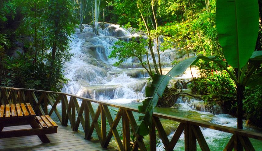Dunn's River Falls | Jamaica Wheelchair Taxi - transport for wheelchair passengers