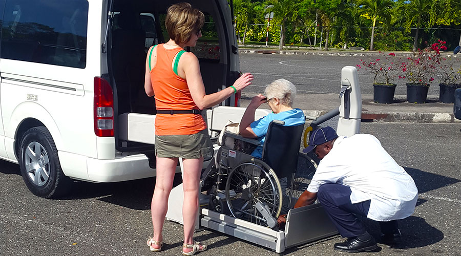 Photo Gallery | Jamaica Wheelchair Taxi - transport for wheelchair passengers