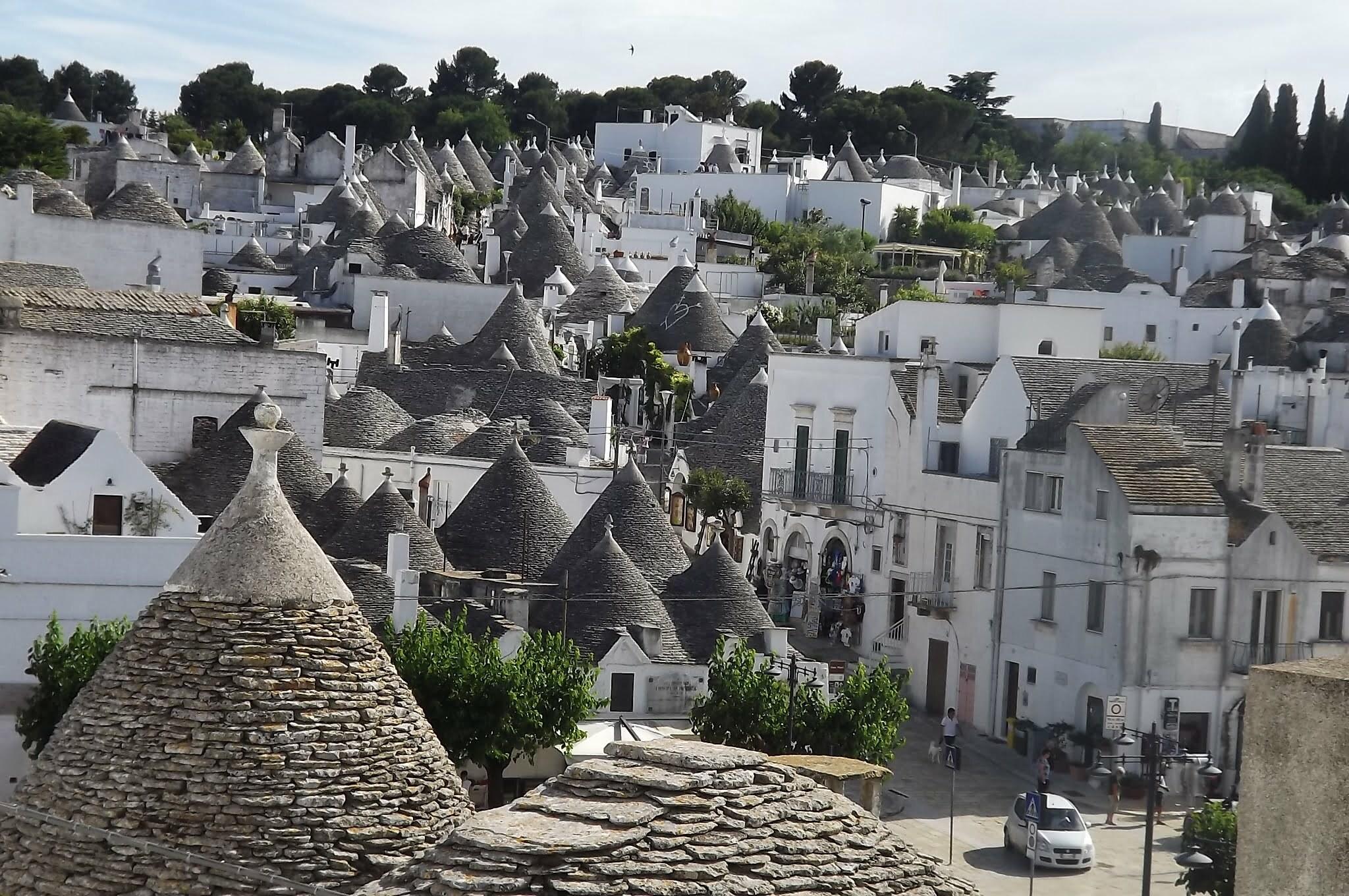 """Ad Alberobello vivo in un """"Paese di sogno"""""""