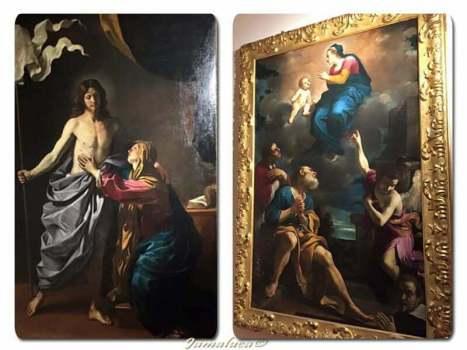 Guercino e Mattia Preti