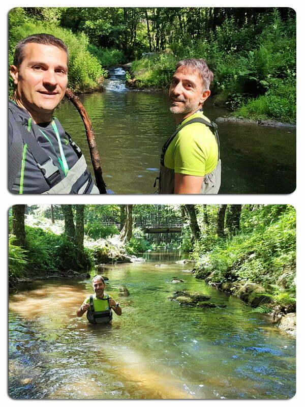 attività outdoor in Sila water trekking