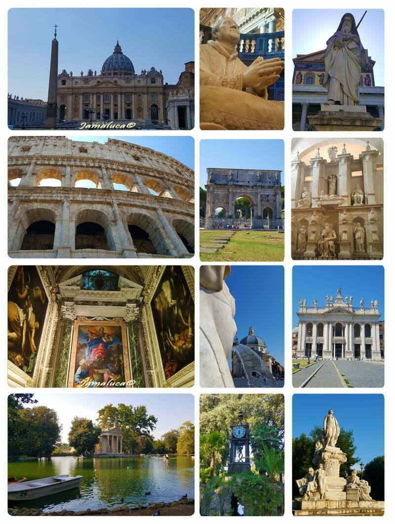 Visitare Roma in tre giorni