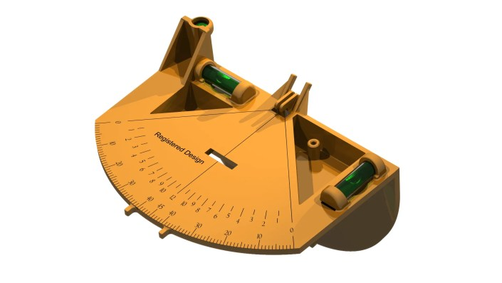 Chalkline Protractor - Inventions Technical Documentation