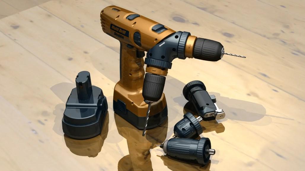 Multi Drill & Accessories - CAD Modelling