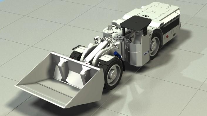 Underground Mining Truck - Industries