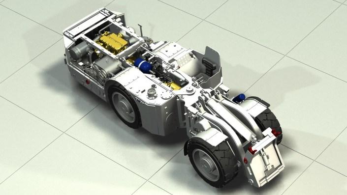Underground Mining Truck - Consulting Image