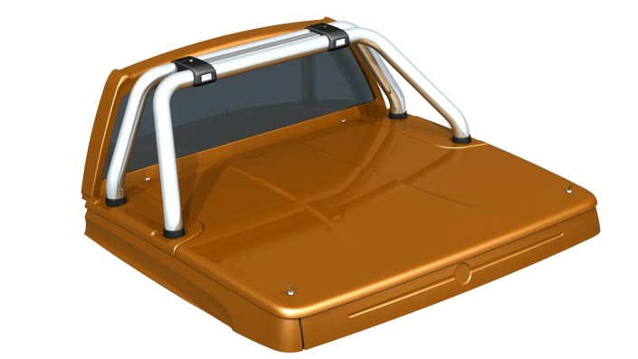 Hard Tonneau Pickup Truck - Automotive