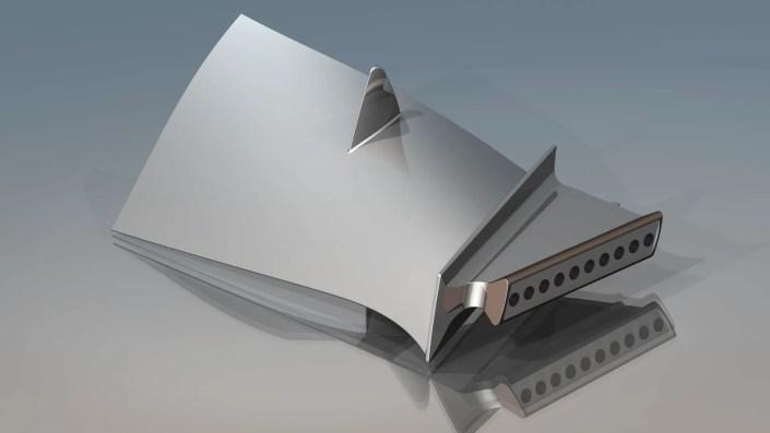 Jet Engine Blade - Aerospace - Consulting Image