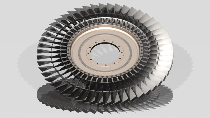 Engine Blades Rotor Stage - Aerospace - Blog