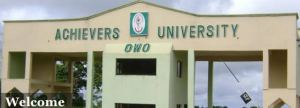 Achievers University AU Releases 2018/2019 1st 2nd 3rd 4th Batch JAMB Admission List Is Out