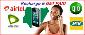 Recharge and Get Paid In Nigeria – Make Money on VTU and Data Subscriptions