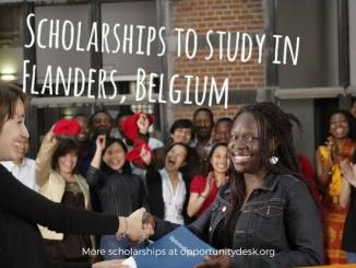 VLIR UOS Scholarships 2019