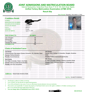 How to Print Out Original JAMB UTME Result Slip 2019/2020 | Is jamb original result out for 2019?