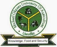 Michael Okpara University of Agriculture Umudike MOUAU