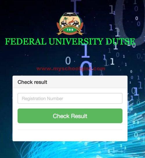 How to Check FUD Post UTME Result Online