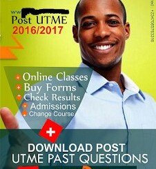 Download Post-UTME CBT 2020 Past Questions and Answers For Your School