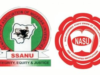 SSANU, NASU Suspend Nationwide Strike After 3 Weeks
