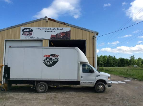 Amherst Tire Truck Trailer service