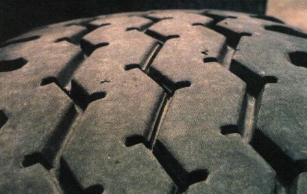 commercial truck tire tread depth