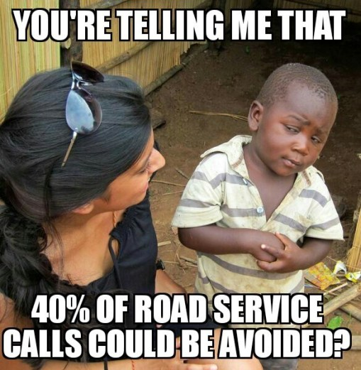 roadside service calls