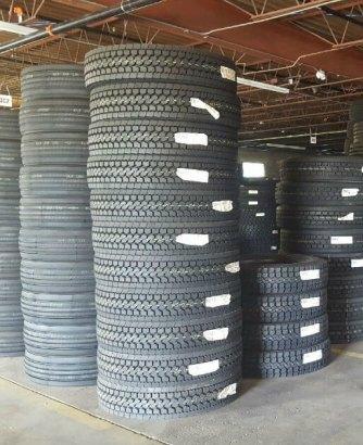 new semi truck tire