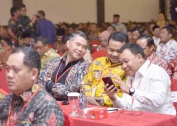 Wali Kota Jambi H Syarif Fasha di Rapat Koordinasi Nasional (Rakornas) Bidang Kewaspadaan Nasional