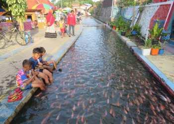Kampung wisata Mrican, Yogyakarta. (ist)