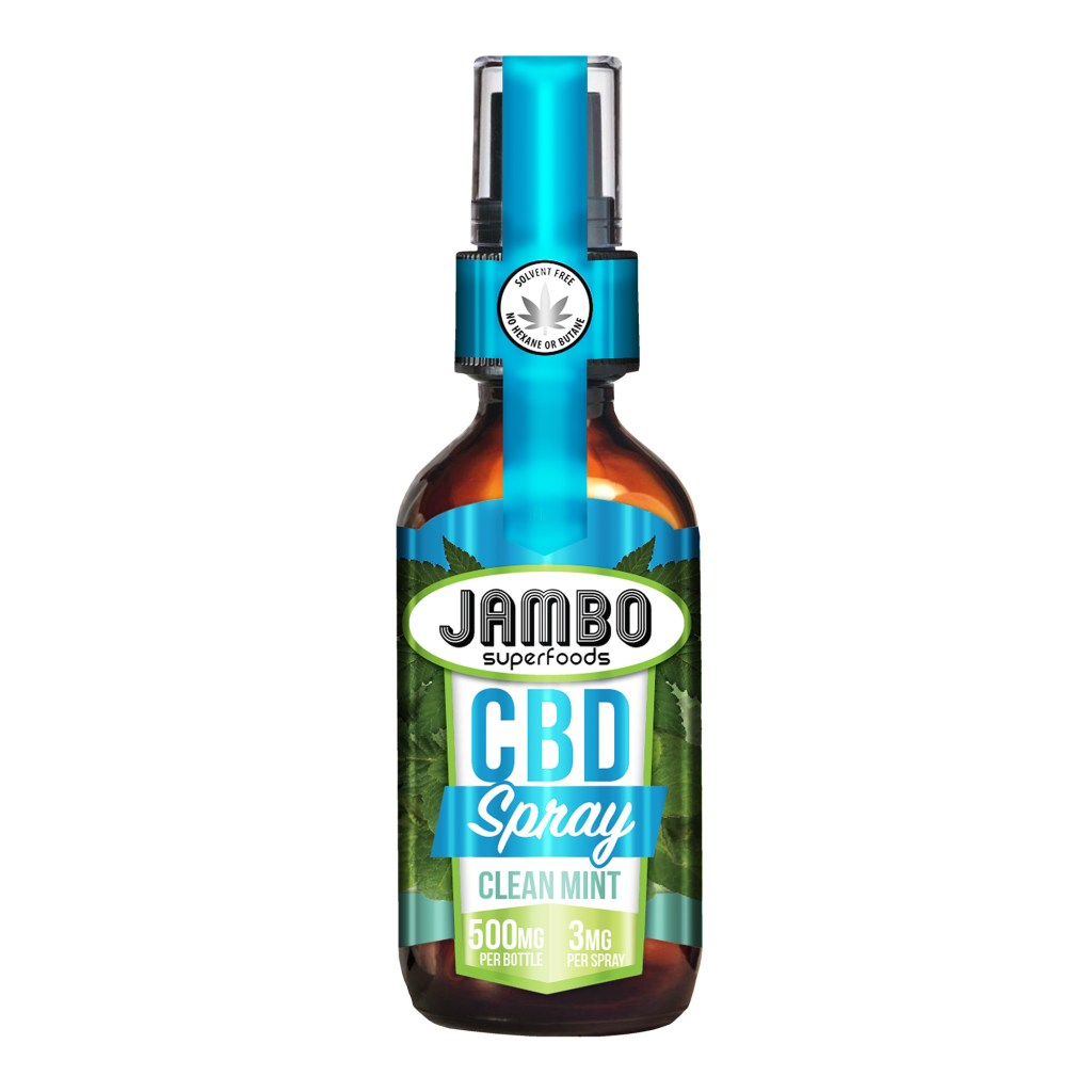 Jambo Superfoods CBD spray clean mint 500mg product image