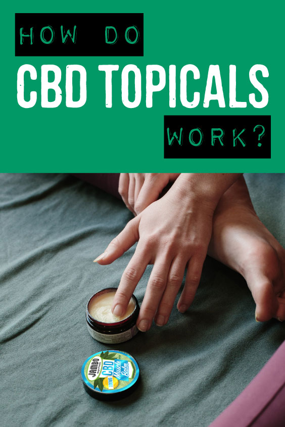 How do CBD topicals work?