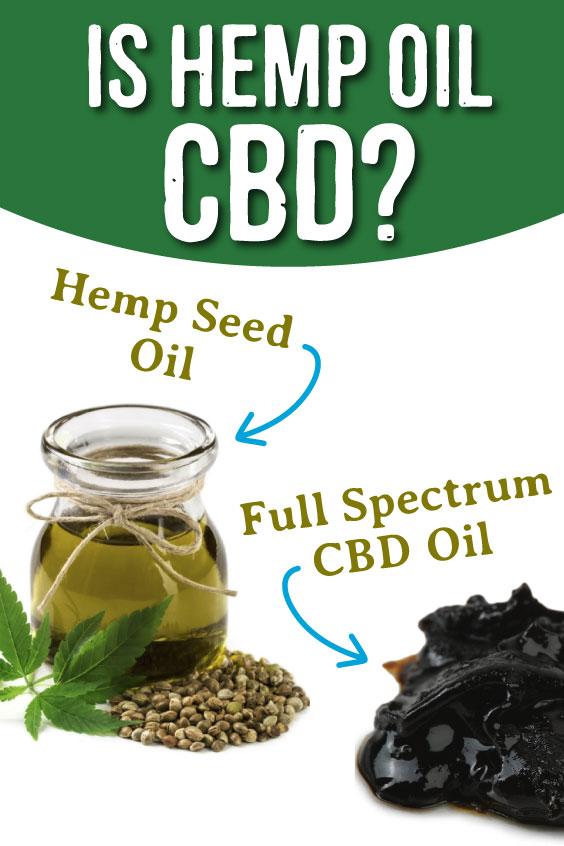 is hemp oil cbd?