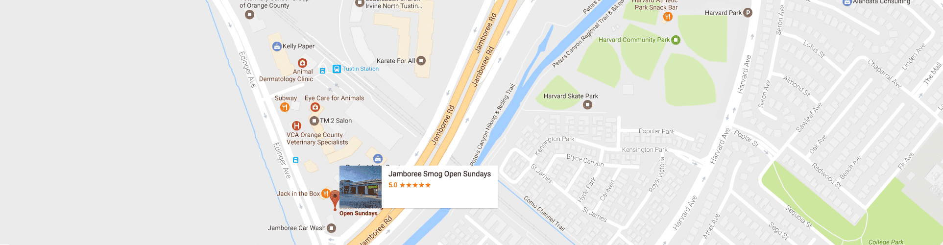Conveniently located near the Tustin Metrolink Station