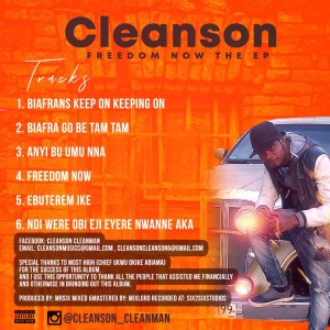 Cleanson - Freedom Now