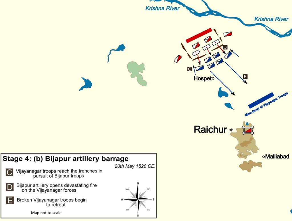 figure 10 bijapur s devastating artillery barrage [ 1024 x 775 Pixel ]