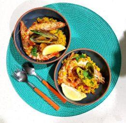paella-serve