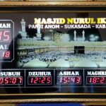 Harga Waktu Sholat Digital Mini