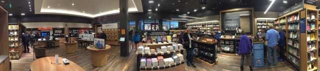 Amazon books ... in the flesh - (2)