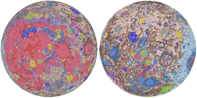 Unified Geologic Map of the Moon - (1)