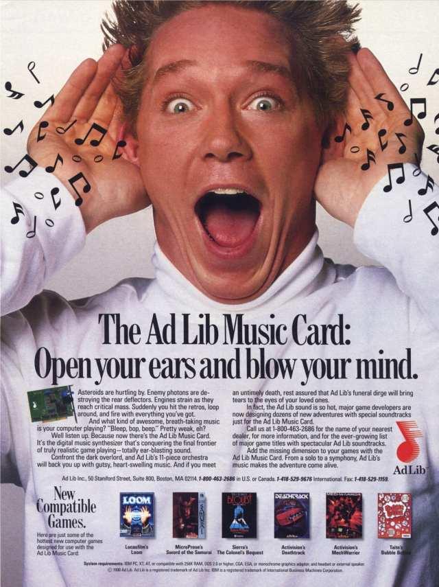 Adlib Jun 1990 Ad