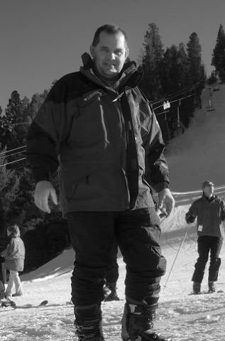 My wife Kay loves to snow ski so I join her when possible. We have skied together as a family since about 2004. Not sure where we took this picture, maybe Telluride or Angel Fire.