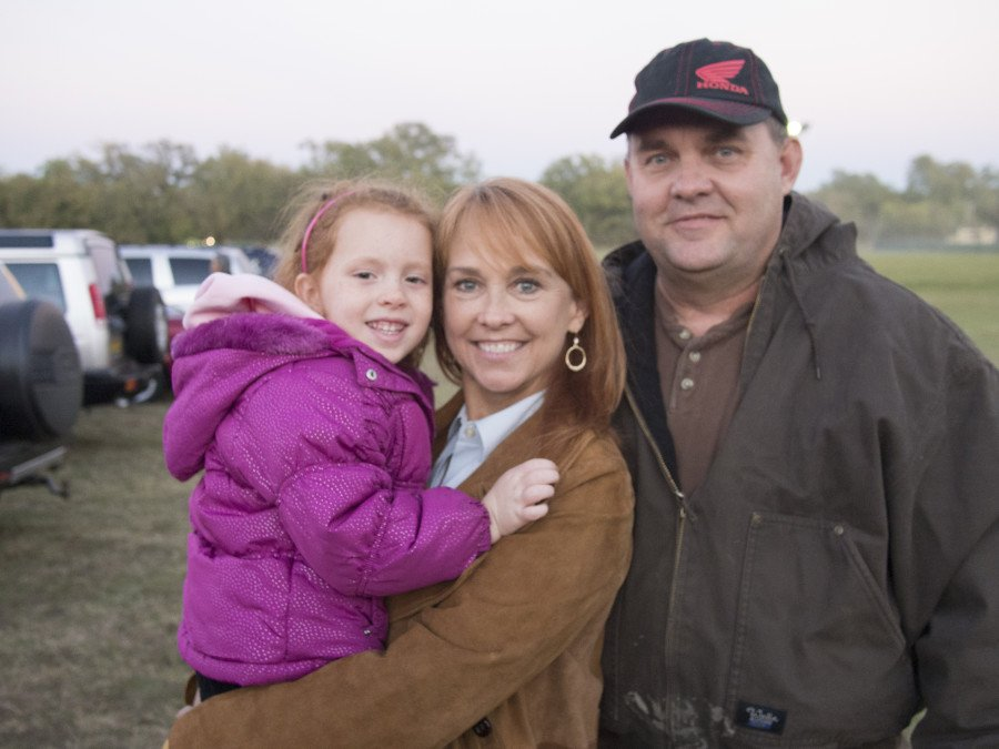 Kay and I with our first grandaughter Kaitlyn Reber circa 2013.