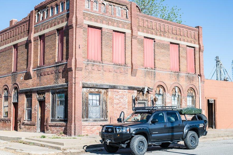 Oklahoma TAT - Trans America Trail story for Oklahoma Today