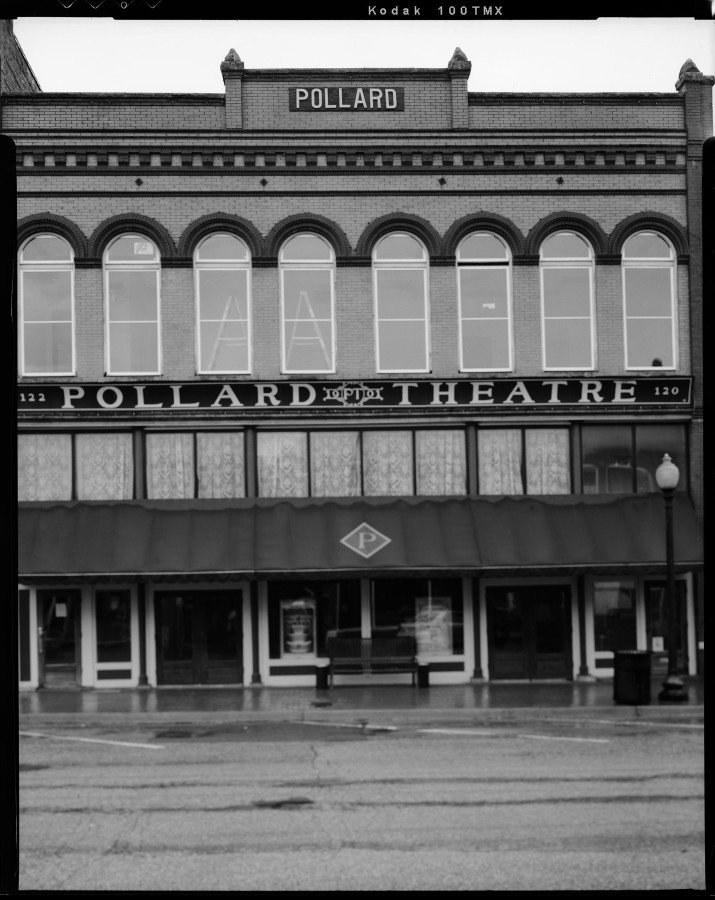 The Pollard Theatre in Guthrie makes a great backdrop for historically oriented commercial or editorial photography.