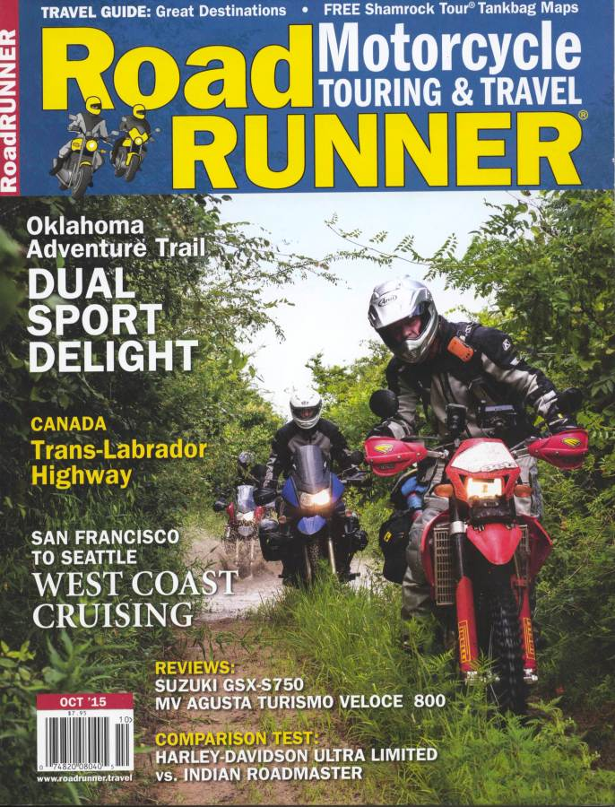 I photographed Bill Dragoo on the K-Trail in SE Oklahoma while riding the Oklahoma Adventure Trail on a story for Roadrunner Magazine.