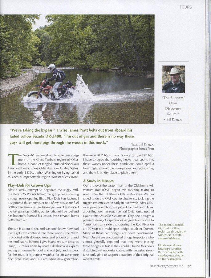 Roadrunner Magazine - OAT Story Page 4