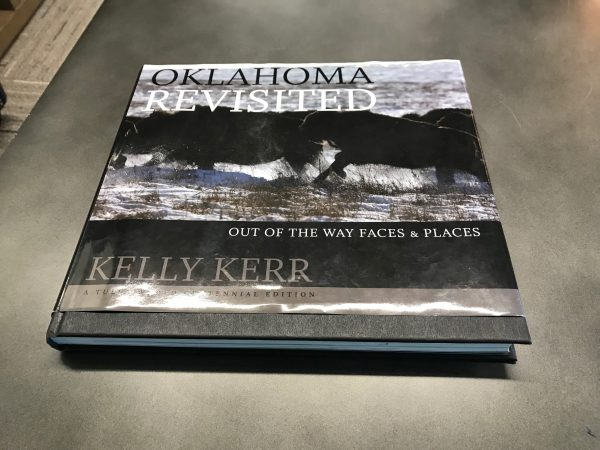 """While waiting on my portrait subject, I discovered this awesome photography book by Kelly Kerr titled """"Oklahoma Revisited"""". What a great book. Well done and very inspiring."""