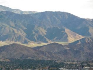 View outward from Oasis de los Osos