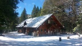 Trailfinders Lodge in winter